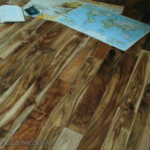 Prefinished Natural Acacia Flooring